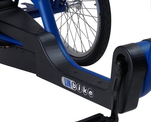 Lintech, linbike , driewielers, fietsen, seniorenfiets, lage instap, heeten, driewieler volwassenen, trapondersteuning, nijland cycling, tandem met elektrische ondersteuning, mindervalide, gehandicapten fiets, driewieler elektrisch, e-bike, bejaarden fiets, duo fiets, driewielfiets volwassenen, gehandicapten driewieler, ouderen fiets, senioren fiets, POM revalidatietechniek, kwaliteitsfiets, fiets, fiets op maat, singly