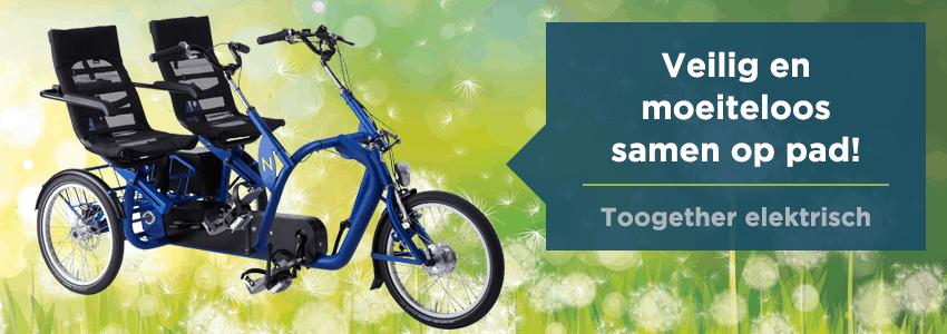Lintech, linbike , driewielers, fietsen, seniorenfiets, lage instap, heeten, driewieler volwassenen, trapondersteuning, nijland cycling, tandem met elektrische ondersteuning, mindervalide, gehandicapten fiets, driewieler elektrisch, e-bike, bejaarden fiets, duo fiets, driewielfiets volwassenen, gehandicapten driewieler, ouderen fiets, senioren fiets, POM revalidatietechniek, kwaliteitsfiets, fiets, fiets op maat, toogether