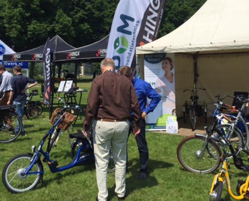 Lintech, POM revalidatietechniek, kwaliteitsfiets, fiets, fiets op maat