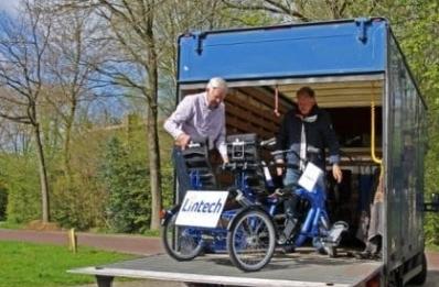 Op maat gemaakte fiets gebracht door Lintech