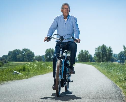 veilig fietsen met de suelo lage instapfiets