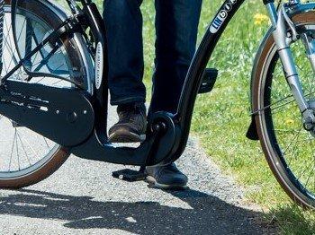 Lage instap fietsketting